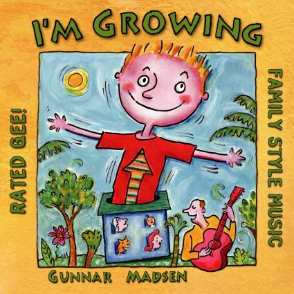 I'm Growing by Gunnar Madsen album cover
