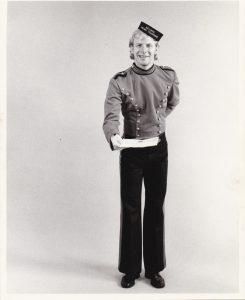 Gunnar as Singing Telegram Oddity circa 1980