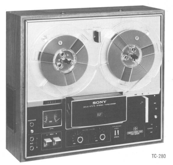 Sony TC-280 circa 1970