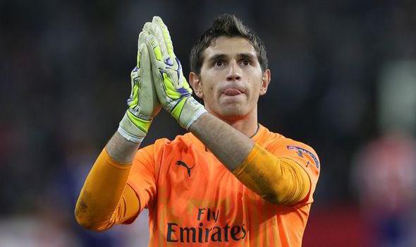 Emiliano Martinez Arsenal
