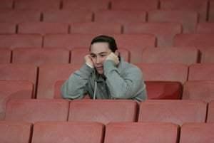 Dejected fan