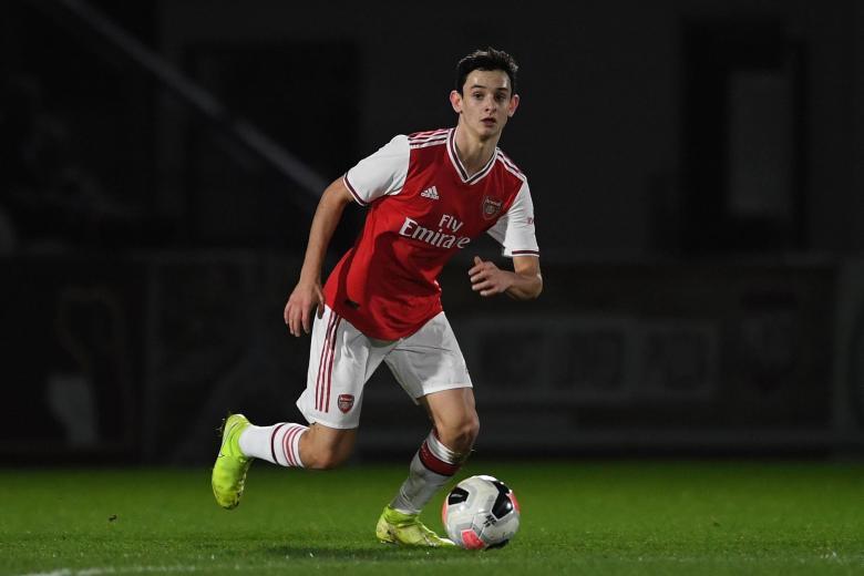 CharliePatino Arsenal-academy