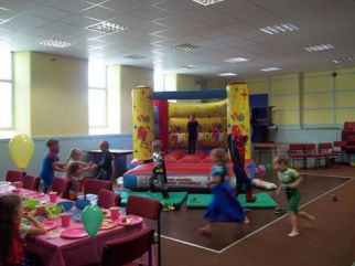 Children having a great time.