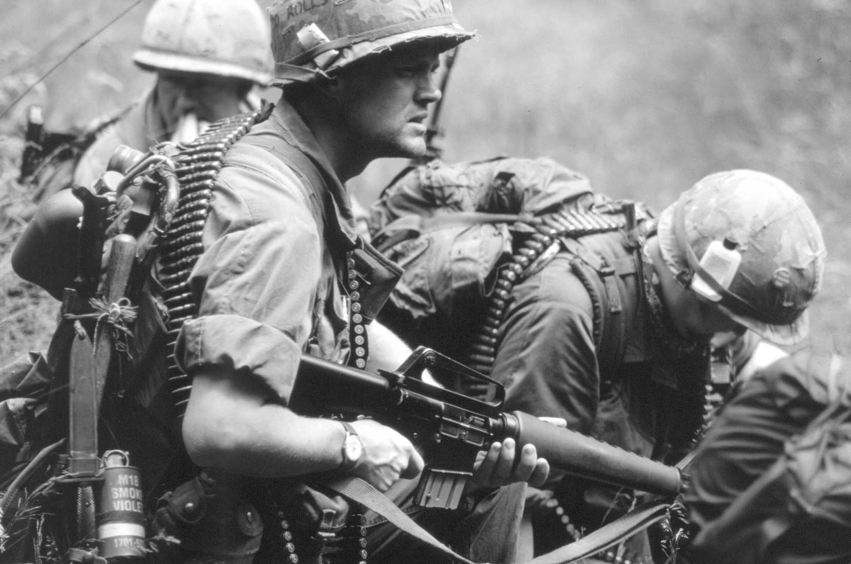 A Day In The Life Of A Vietnam M 60 Gunner