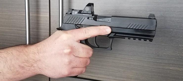Sig Sauer P320 Hand Fit
