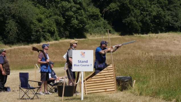 CPSA World English Sporting – the Blue Course
