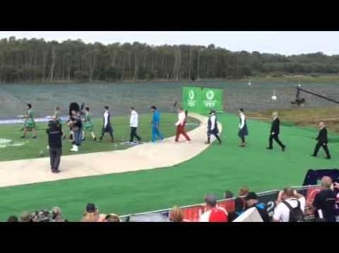 Glasgow 2014 Men's Skeet Medal Ceremony