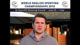 Rob Fenwick 2018 World English Sporting Championships Preview