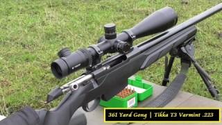 361 Yard Gong Tikka T3 223