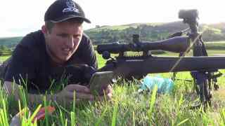 543 YARD HEADSHOT! .243 bunny 87 grain vmax