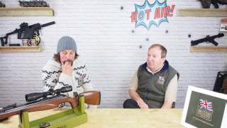 Diana N-tec air rifle and nikko panamax scopes. Part 2 of 3