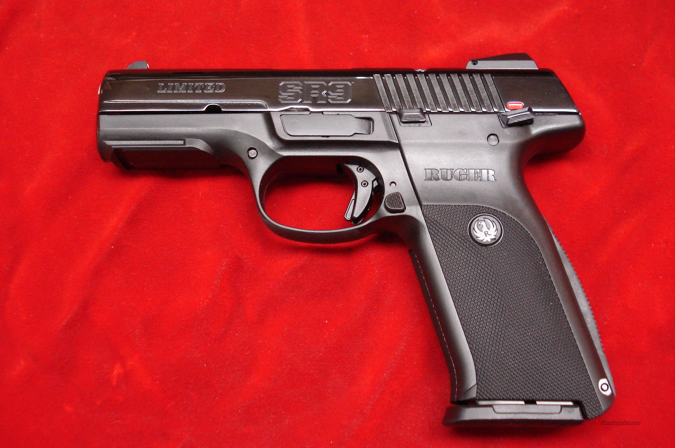 Ruger New Release Sr9 Black Ice Ltd High Ca For Sale