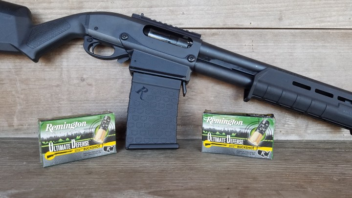 Remington 870 DM and Shells