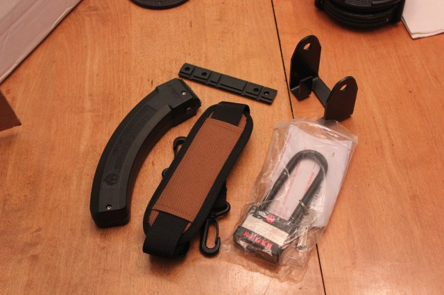 Included: BX25, receiver lock, scope base, carry strap