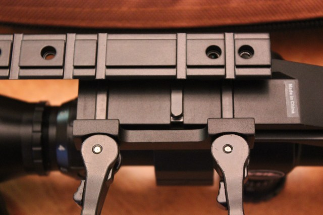 Ruger scope base next to underside of PEPR mount