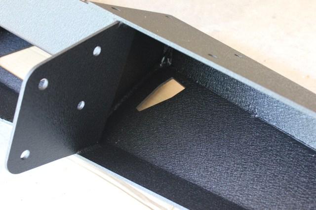 Smittybilt XJ XRC 76810 Hi-lift jack mount