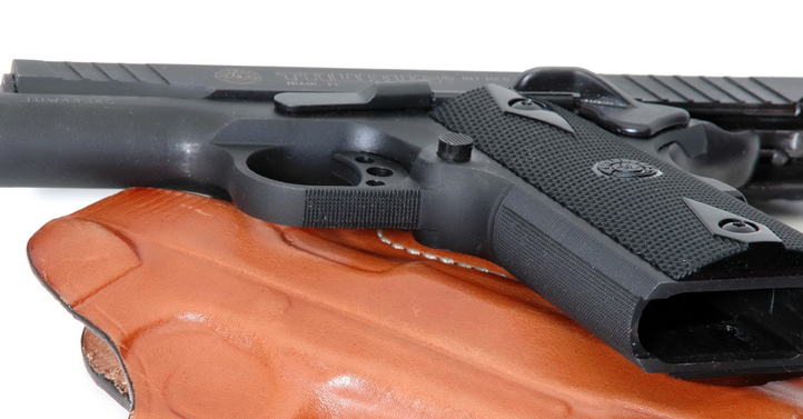 5 Checkering Btm Trigger Guard Front Strap
