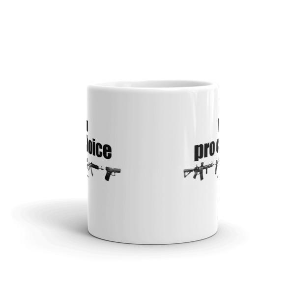 I'm Pro Choice Guns Coffee Mug