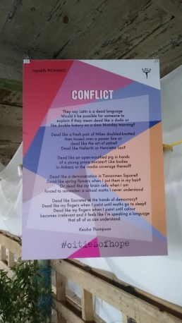 Conflict poem