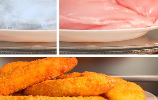 Шаг за шагом от разморозки до готового блюда