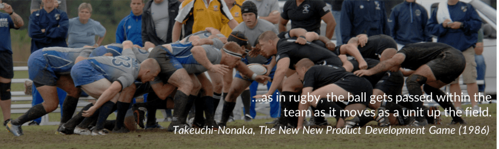Rugby (as in)