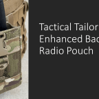 Tactical Tailor Enhanced Baofeng Radio Pouch