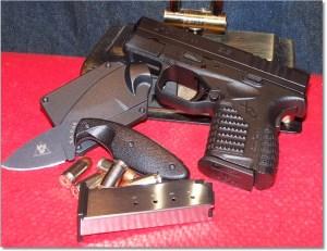 XDs45 w/Ka-Bar TDI Law Enforcement Knife - A Winning Compact Package