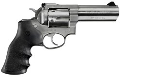 The Ruger GP100 Is Handful of Gun - Some With Small Hands May Be Challenged With  Grip This Size