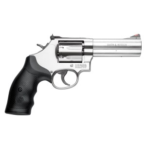 The S&W Mdl 686. Almost a Perfect balance Between Gun and Grip.