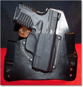 The XDs 3.3 45 in the SHTF Gear IWB HOlster