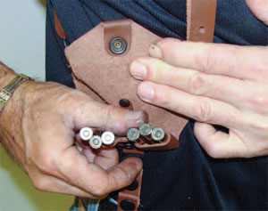 Another Example of a Strong Side Ammunition Carry