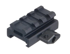 UTG Low Profile Riser Mount with 3 slots