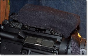 "The SS6, 7-85"" Scopeshield fits the UTG CQB Red/Green Dot Sight Nicely on this Windham ""SRC"""
