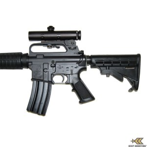 Adjustable Stock Allows the Operator to 'Move' to the Scope