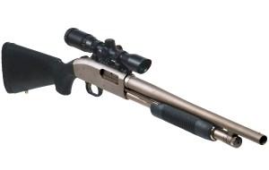 Shotgun-Mounted Long Eye Relief (LER) Scope