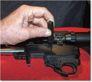 Remove the Receiver Cross Pins (B5) To Remove the Trigger Guard Assembly (B2C)