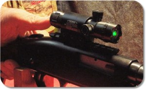 The Push Button Switch (and top-mounted safety) Can be Easily Reached