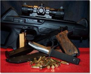 A Likable Trio; The Beretta CX4 Storm, Beretta 92FS, and Cold Steel Kobun Tanto