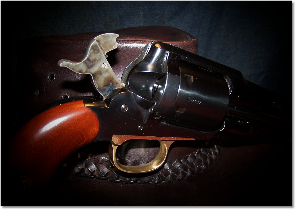 1858 Remington New Army Conversion by A  Uberti | Guntoters