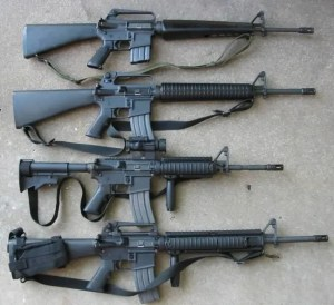 M16 Stock Evolution