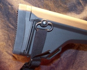"""MAGPUL PRS Extended Butt-Pad (0.80"""") Installed"""