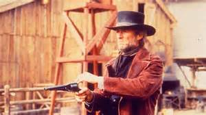 "Clint Eastwood in ""Pale Rider"" with the 1858 Remington New Army Conversion"
