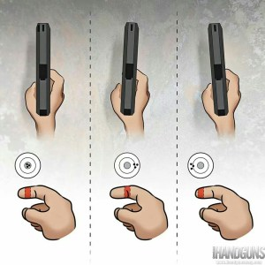 Finger position on a trigger is important.  However, the shooter must find what works best for them.