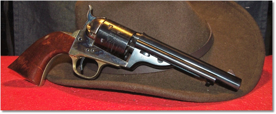 1871 Navy Colt Conversion (Early Version) by A  Uberti