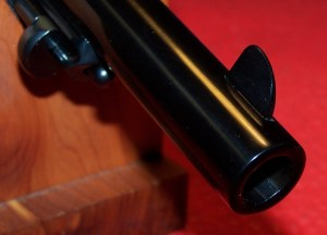Tall Front Sight of the 1875 Remington New Army revolver