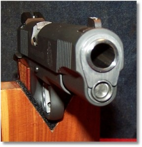 The Springfield Guide Rod and Bushing Were Swapped with that From the Rock Island 1911 FS Tactical - A perfect Fit