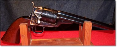 Uberti 1872 Army Open-Top Revolver - Blued and Color Case- Hardened Steel