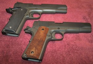 Rock Island 1911 FS Tactical (Top) and 1911 FS G.I. (Bottom).  Both are Excellent Performers for a Very Reasonable Price