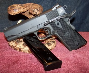 """A """"Commander"""" 1911-based Pistol Makes For  a Nice Carry Package"""
