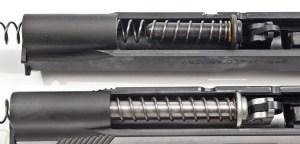 Standard Guide Rod (Top) and Full-Length Guide Rod (Bottom)